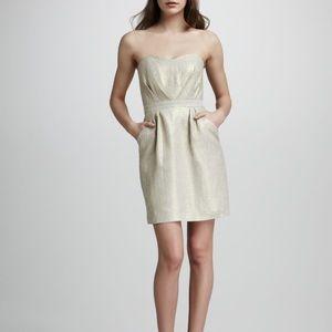 Shoshanna Strapless Cocktail mini dress
